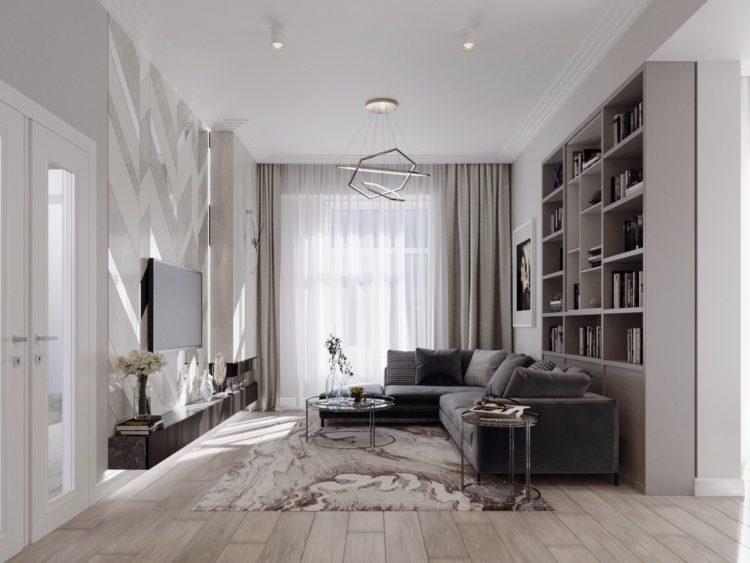 Шоурум. Квартира в современном стиле