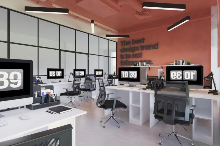 Собственный офис студии дизайна интерьера в г. Бишкек
